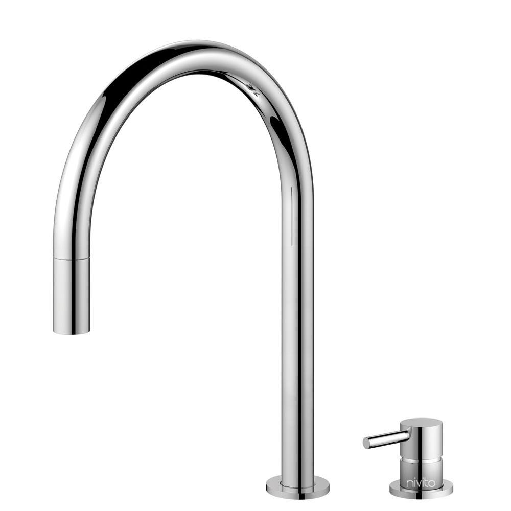 Kuchyňa Vodovodný Kohútik Výsuvná hadica / Oddelené Telo/potrubie - Nivito RH-110-VI