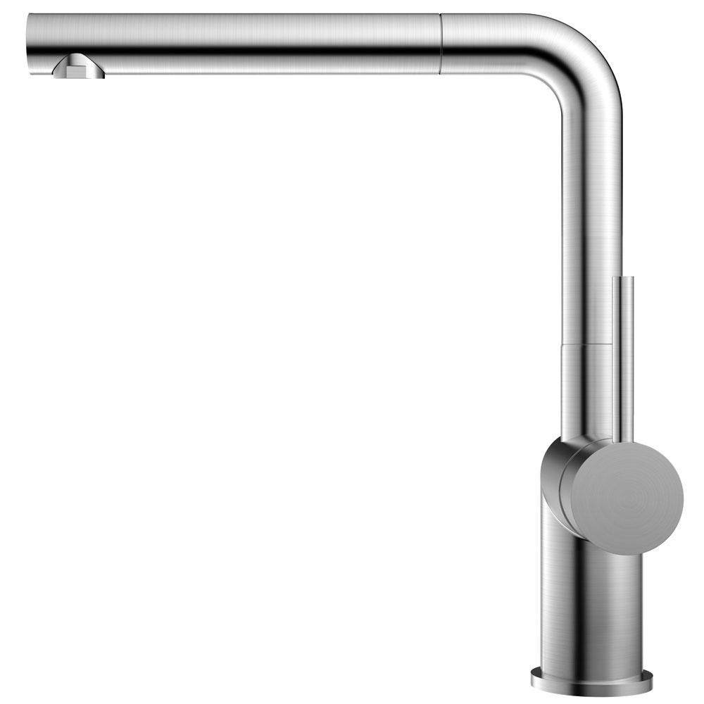 Nerezová Oceľ Kuchyňa Vodovodný Kohútik Výsuvná hadica - Nivito RH-600-EX