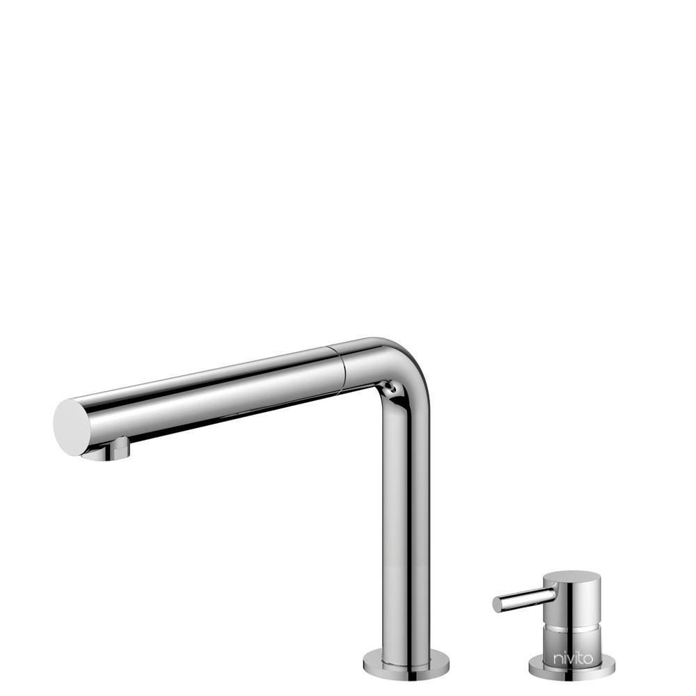 Kuchyňa Vodovodný Kohútik Výsuvná hadica / Oddelené Telo/potrubie - Nivito RH-610-VI