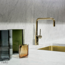 Mosadz/Zlaté Kuchyna Kohútik - Nivito 1-RH-360