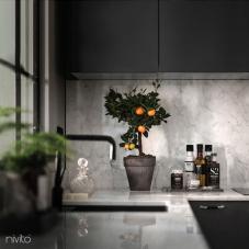 Čierne Kuchyna Kohútik - Nivito 10-RH-320