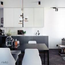 Čierne Kuchyna Kohútik - Nivito 11-RH-320
