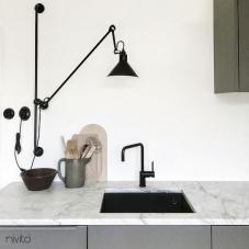 Čierne Kuchyna Kohútik - Nivito 16-RH-320