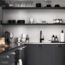 Čierne Kuchyna Kohútik - Nivito 21-RH-320