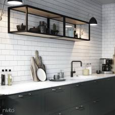 Čierne Kuchyna Kohútik - Nivito 22-RH-320