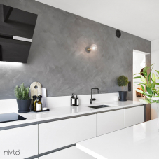 Čierne Kuchyna Kohútik - Nivito 4-RH-320