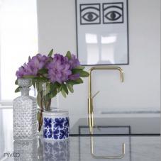 Zlate mosadz mixer vodovodný kohutik