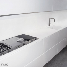 Nerezová Oceľ Kuchyna Kohútik - Nivito 5-RH-300