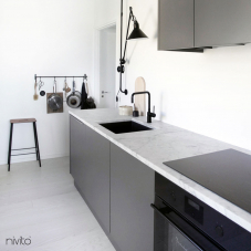 Čierne Kuchyna Kohútik - Nivito 5-RH-320