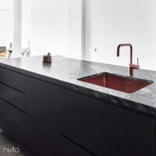 Meď Kuchyňa Umývadlo - Nivito 2-CU-500-BC