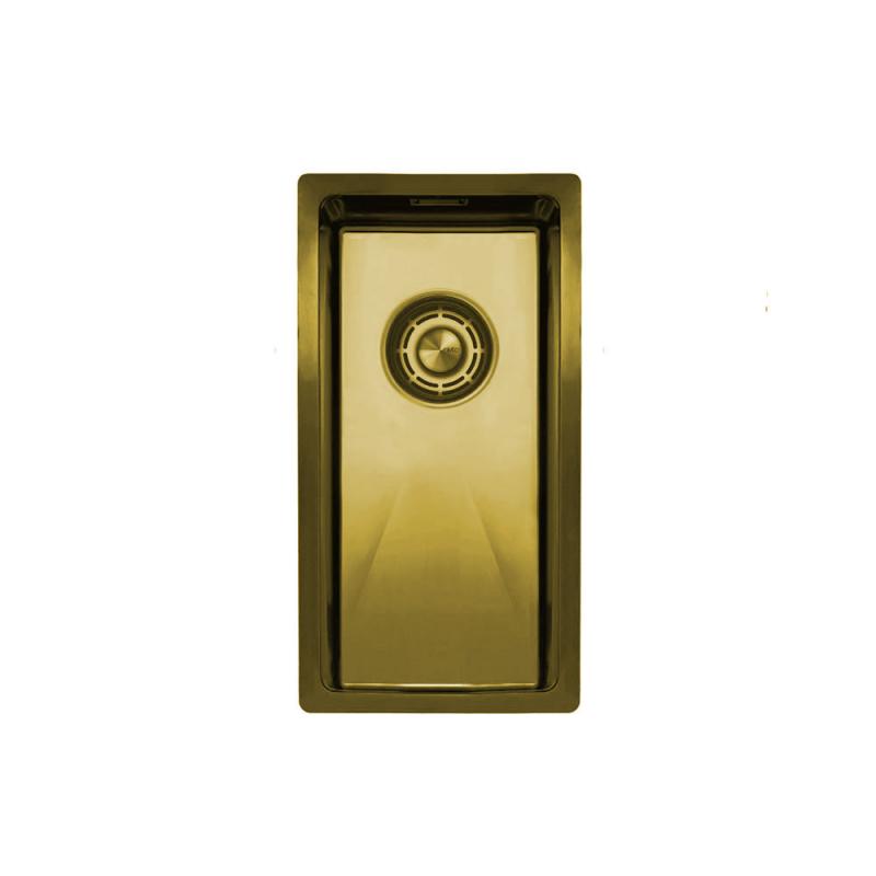 Mosadz/Zlaté Kuchyňa Umývadlo - Nivito CU-180-BB