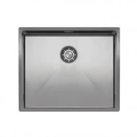 Nerezová Oceľ Kuchyňa Umývadlo - Nivito CU-500-B