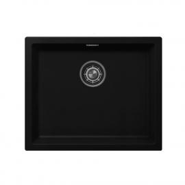 Čierne Kuchyňa Umývadlo - Nivito CU-500-GR-BL
