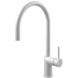 Biele Kuchyňa Vodovodný Kohútik Výsuvná hadica - Nivito RH-130-EX