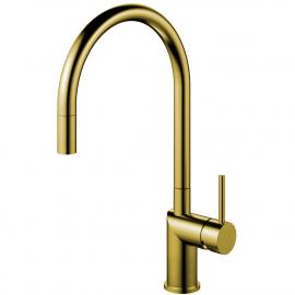 Mosadz/Zlaté Kuchyňa Vodovodný Kohútik Výsuvná hadica - Nivito RH-140-EX