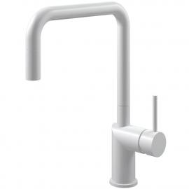 Biele Kuchyňa Vodovodný Kohútik Výsuvná hadica - Nivito RH-330-EX
