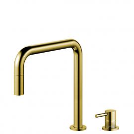 Mosadz/Zlaté Kuchyňa Vodovodný Kohútik Výsuvná hadica / Oddelené Telo/potrubie - Nivito RH-340-VI