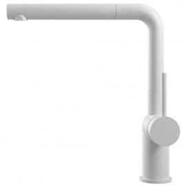 Biele Kuchyňa Vodovodný Kohútik Výsuvná hadica - Nivito RH-630-EX
