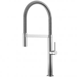 Nerezová Oceľ Kuchyňa Vodovodný Kohútik Výsuvná hadica - Nivito SH-100